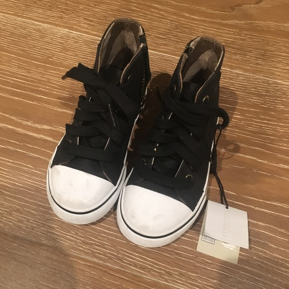 Burberry Other - Burberry kids high top sneakers